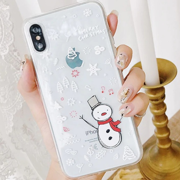 NEW iPhone X/XS Snowman Case